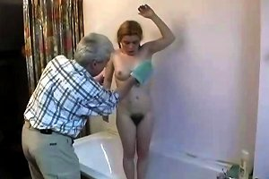 Old Man Fucks Hairy Cunted Pigtail Teen Up Ass Porn Be